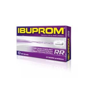 Tabletki przeciwbólowe Ibuprom