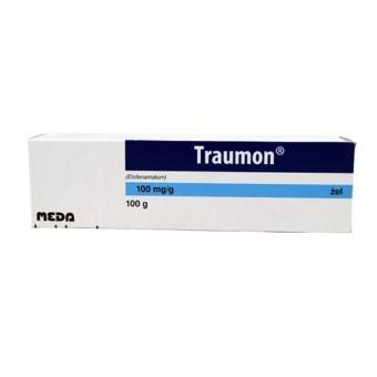 Żel Traumon łagodzący objawy bólu stawów dłoni